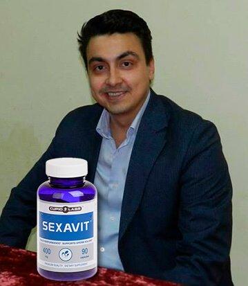 щастлив клиент от закупуването на хапчета за повече сперма Sexavit