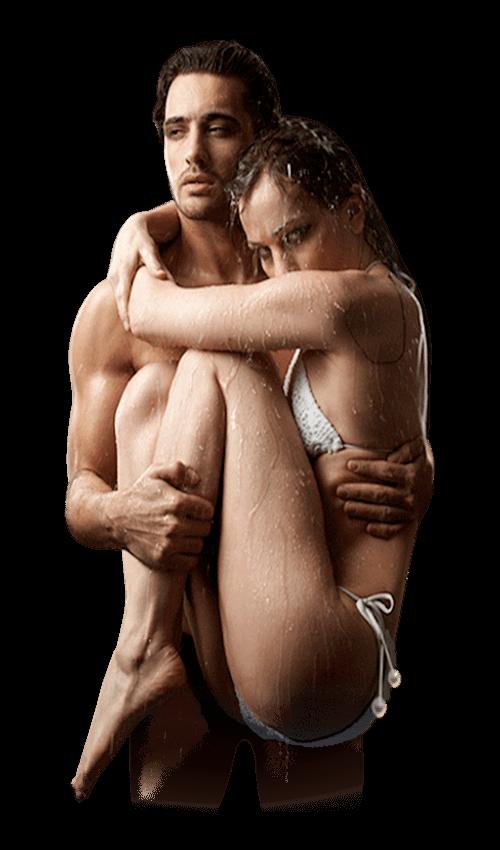 двойка в оскъдно облекло преди да направят сексуално сношение